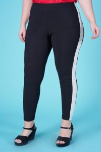 LEGGINGS FASCIA LATERALE BICOLORE